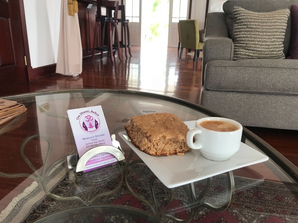 """Photo of Martha's Cafe at Om Shanti Belize  by <a href=""""/members/profile/OmShantiBelize"""">OmShantiBelize</a> <br/>undefined <br/> March 26, 2018  - <a href='/contact/abuse/image/115746/376185'>Report</a>"""