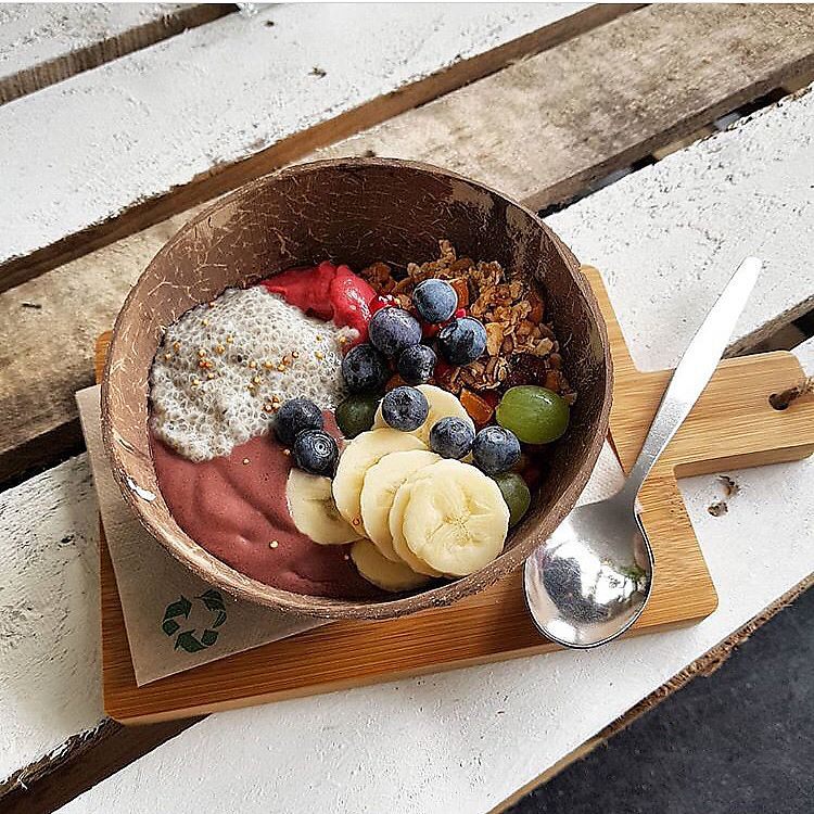 "Photo of Karibu Cafe  by <a href=""/members/profile/RomaDhanani"">RomaDhanani</a> <br/>Acai bowl <br/> March 27, 2018  - <a href='/contact/abuse/image/115775/376920'>Report</a>"
