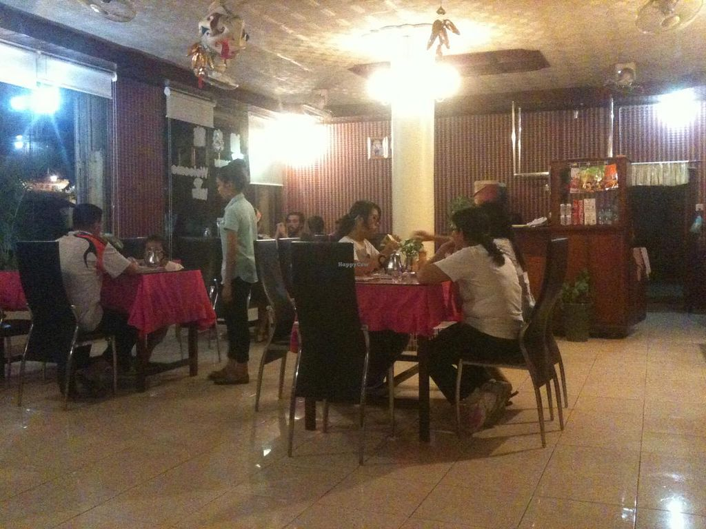 """Photo of Monorom Garden  by <a href=""""/members/profile/heloisepe"""">heloisepe</a> <br/>Inside the restaurant <br/> July 27, 2015  - <a href='/contact/abuse/image/11581/111164'>Report</a>"""