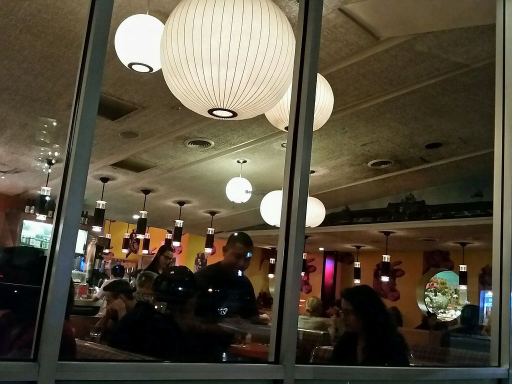 """Photo of Swinger's Diner  by <a href=""""/members/profile/eric"""">eric</a> <br/>inside at night <br/> July 29, 2017  - <a href='/contact/abuse/image/11582/286048'>Report</a>"""