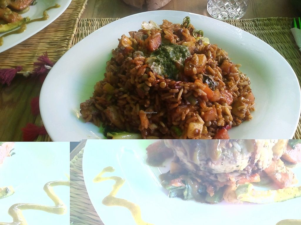 "Photo of Green Vegetarian  by <a href=""/members/profile/KerstinL"">KerstinL</a> <br/>rice and lentils <br/> April 13, 2018  - <a href='/contact/abuse/image/115951/385249'>Report</a>"
