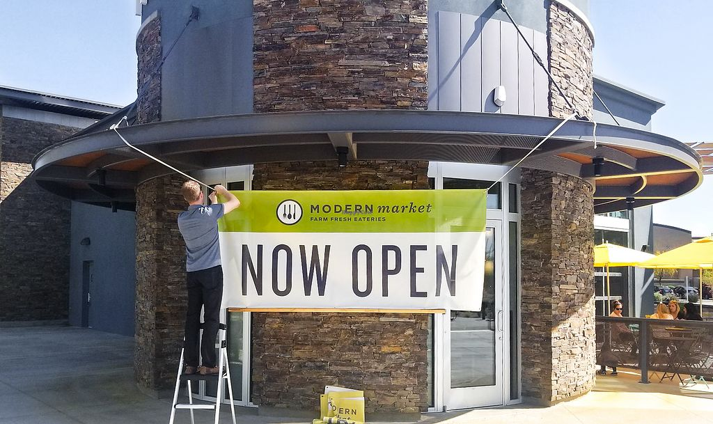 """Photo of Modern Market - 16203 N Scottsdale  by <a href=""""/members/profile/modernmarket"""">modernmarket</a> <br/>Now Open in The Promenade! <br/> March 28, 2018  - <a href='/contact/abuse/image/116017/377440'>Report</a>"""