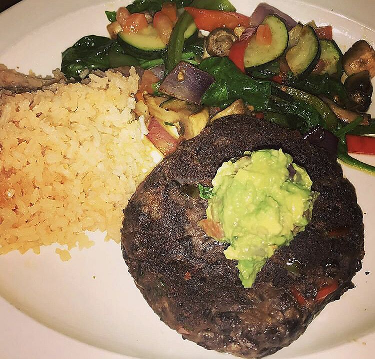 """Photo of Day y Noche  by <a href=""""/members/profile/Tabgreenvegan"""">Tabgreenvegan</a> <br/>Black Bean Cake <br/> March 28, 2018  - <a href='/contact/abuse/image/116024/377414'>Report</a>"""