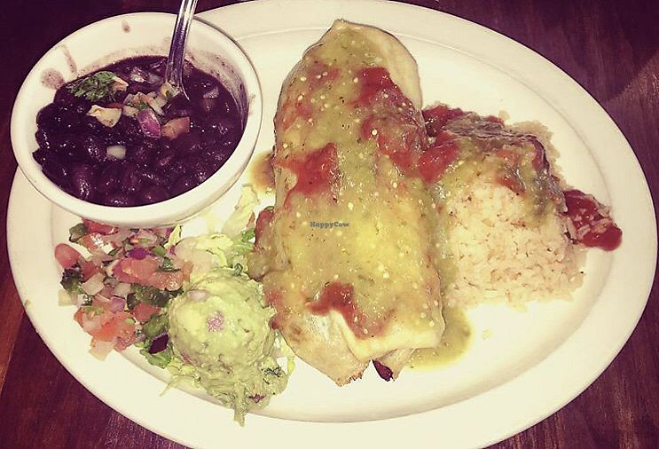 """Photo of Day y Noche  by <a href=""""/members/profile/Tabgreenvegan"""">Tabgreenvegan</a> <br/>Vegan Chimichanga  <br/> March 28, 2018  - <a href='/contact/abuse/image/116024/377450'>Report</a>"""