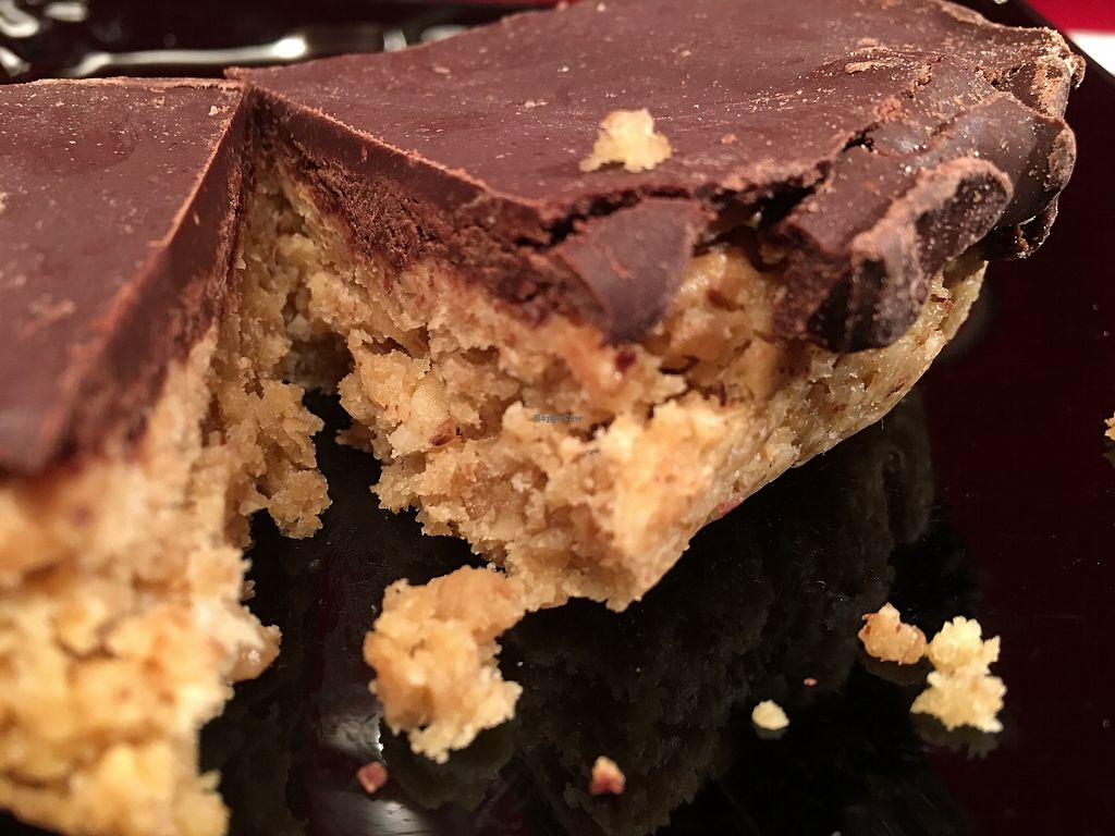 "Photo of The Green Guerrilla Deli  by <a href=""/members/profile/hack_man"">hack_man</a> <br/>Chocolate & peanut butter flapjack  <br/> March 31, 2018  - <a href='/contact/abuse/image/116050/379041'>Report</a>"