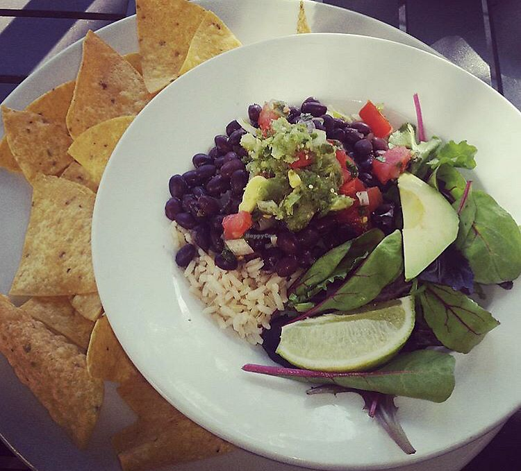 """Photo of Gilligan's Island  by <a href=""""/members/profile/Tabgreenvegan"""">Tabgreenvegan</a> <br/>Black Bean Rice Bowl <br/> March 29, 2018  - <a href='/contact/abuse/image/116056/377760'>Report</a>"""