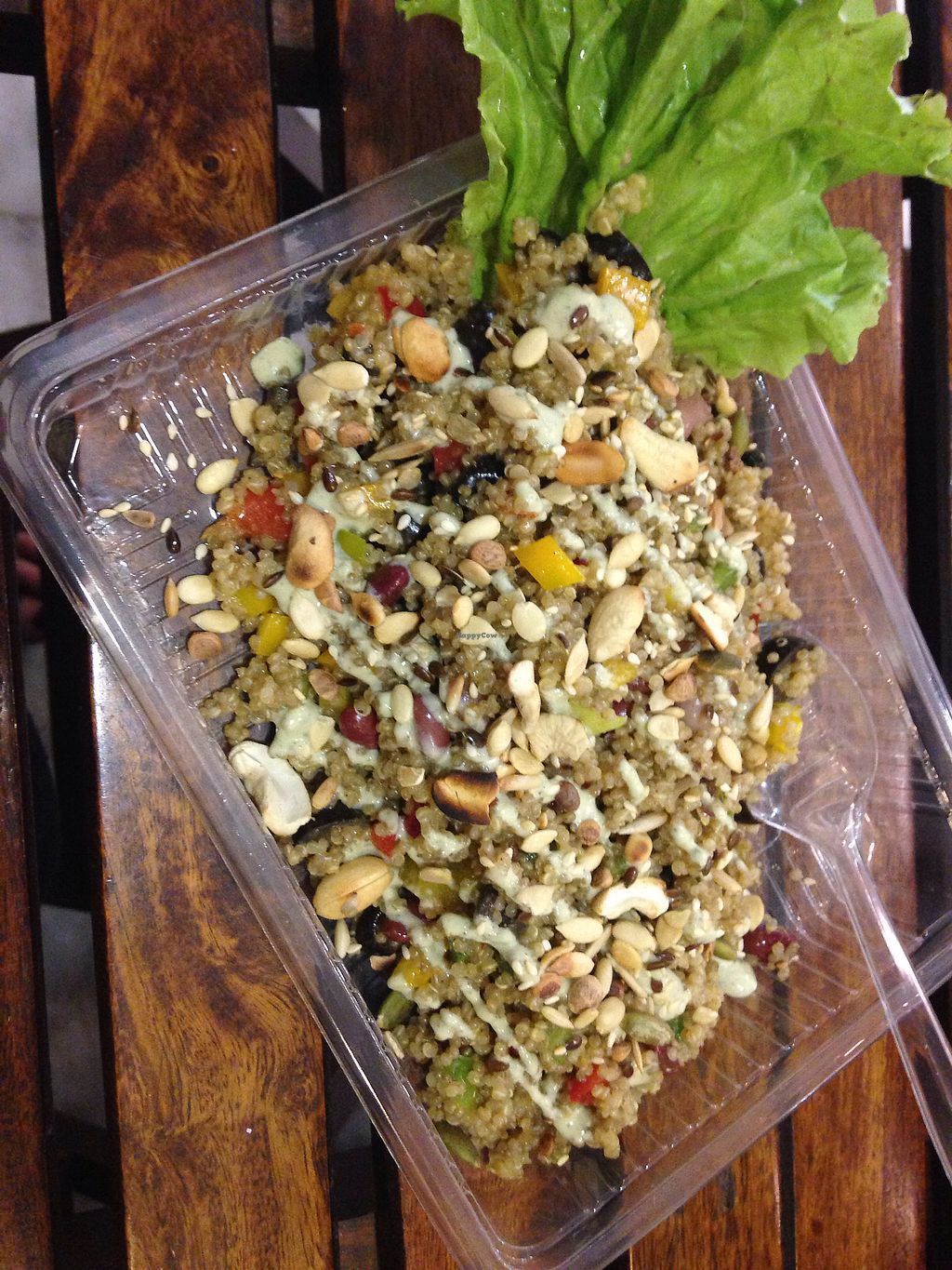 """Photo of Cafe Pranah  by <a href=""""/members/profile/SophieCarolyn"""">SophieCarolyn</a> <br/>Quinoa salad  <br/> March 30, 2018  - <a href='/contact/abuse/image/116070/378152'>Report</a>"""