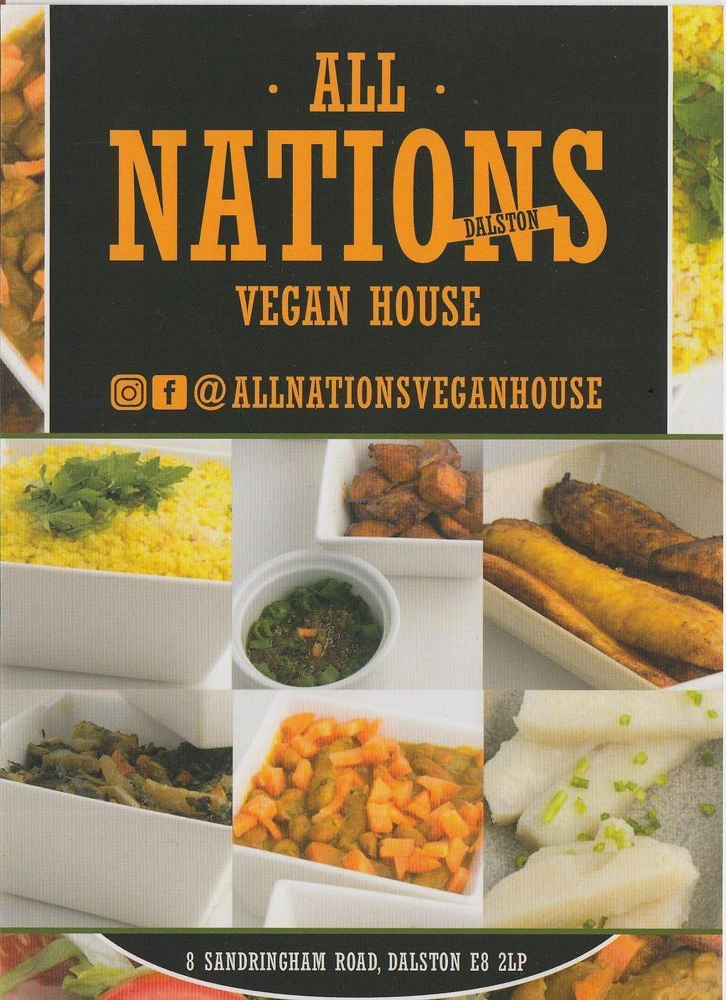 "Photo of All Nations Vegan House  by <a href=""/members/profile/jon%20active"">jon active</a> <br/>Flyer <br/> March 29, 2018  - <a href='/contact/abuse/image/116134/377757'>Report</a>"