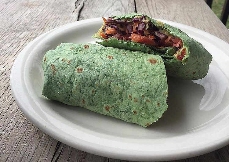 "Photo of Boro Bean  by <a href=""/members/profile/untamedvegan"">untamedvegan</a> <br/>veggie wrap <br/> April 2, 2018  - <a href='/contact/abuse/image/116138/379798'>Report</a>"