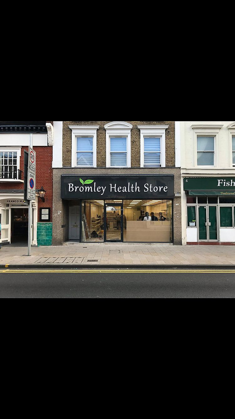 "Photo of Bromley Health Store  by <a href=""/members/profile/Dianaludicrous"">Dianaludicrous</a> <br/>Bromley Health Store <br/> April 6, 2018  - <a href='/contact/abuse/image/116140/381548'>Report</a>"