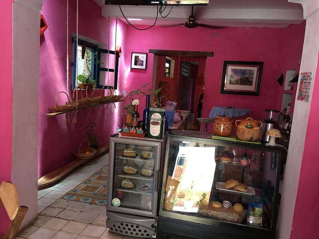 """Photo of Yutsil Cafe Boutique  by <a href=""""/members/profile/Hellavegan"""">Hellavegan</a> <br/>Front desk <br/> March 31, 2018  - <a href='/contact/abuse/image/116163/379096'>Report</a>"""
