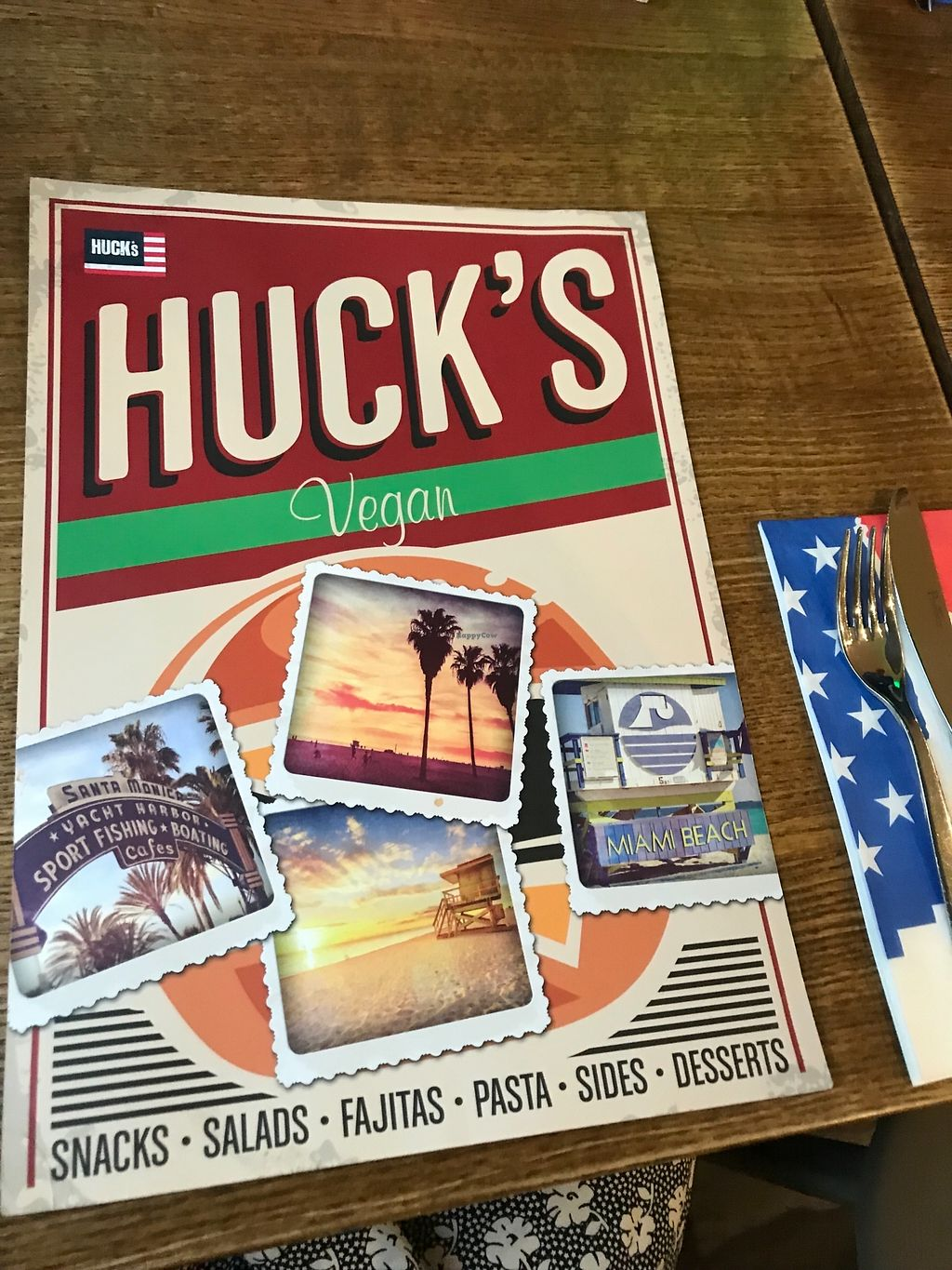 "Photo of Huck's  by <a href=""/members/profile/20daisy00"">20daisy00</a> <br/>Vegan menu <br/> March 29, 2018  - <a href='/contact/abuse/image/116184/377949'>Report</a>"