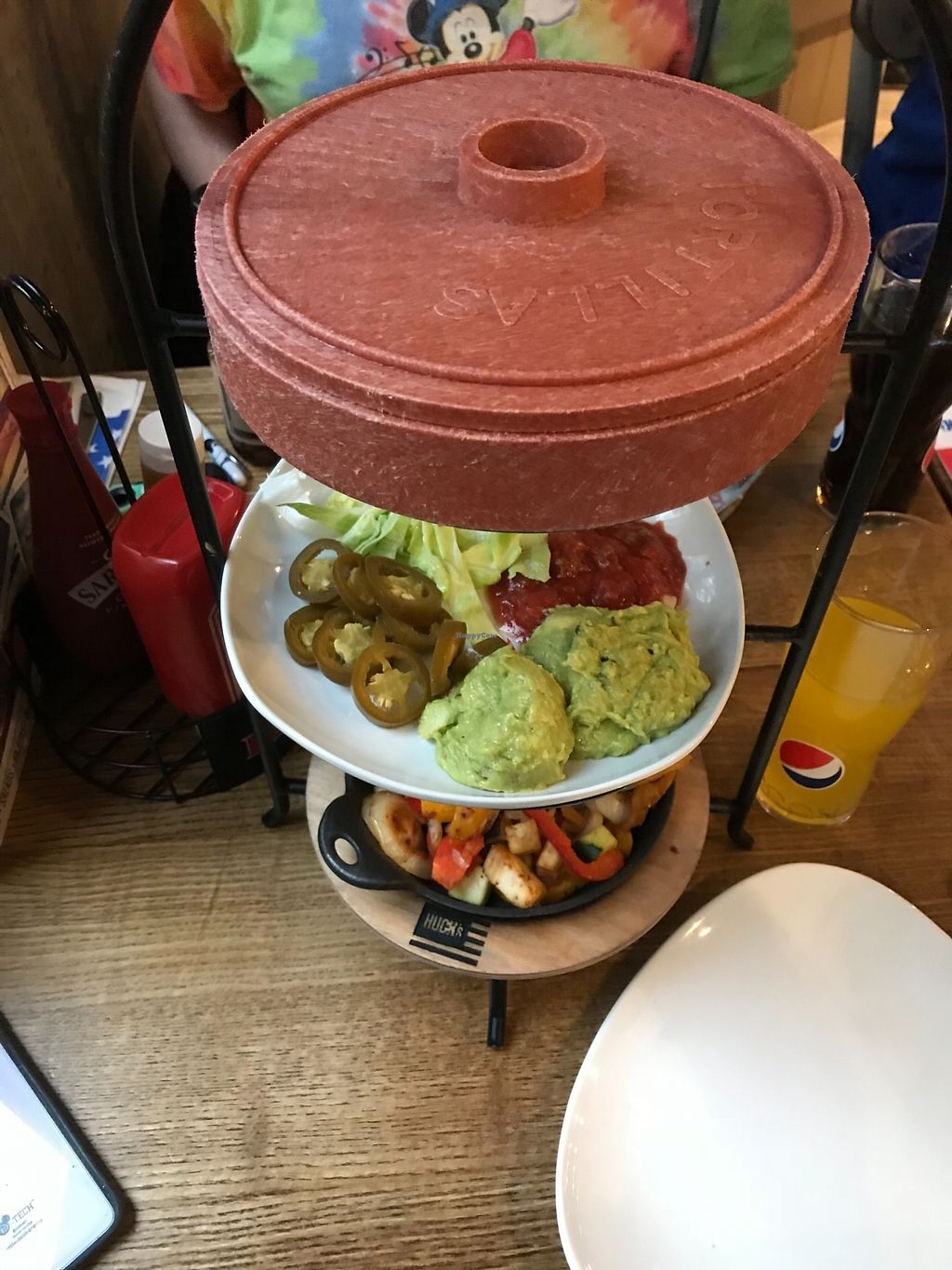 "Photo of Huck's  by <a href=""/members/profile/20daisy00"">20daisy00</a> <br/>Veggie Fajitas <br/> March 29, 2018  - <a href='/contact/abuse/image/116184/377950'>Report</a>"