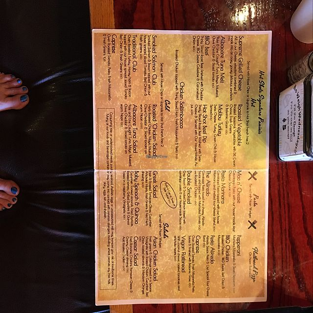 """Photo of Hot Shots Coffeehouse  by <a href=""""/members/profile/Yogini%20Suzanne"""">Yogini Suzanne</a> <br/>menu <br/> April 4, 2018  - <a href='/contact/abuse/image/116191/380415'>Report</a>"""