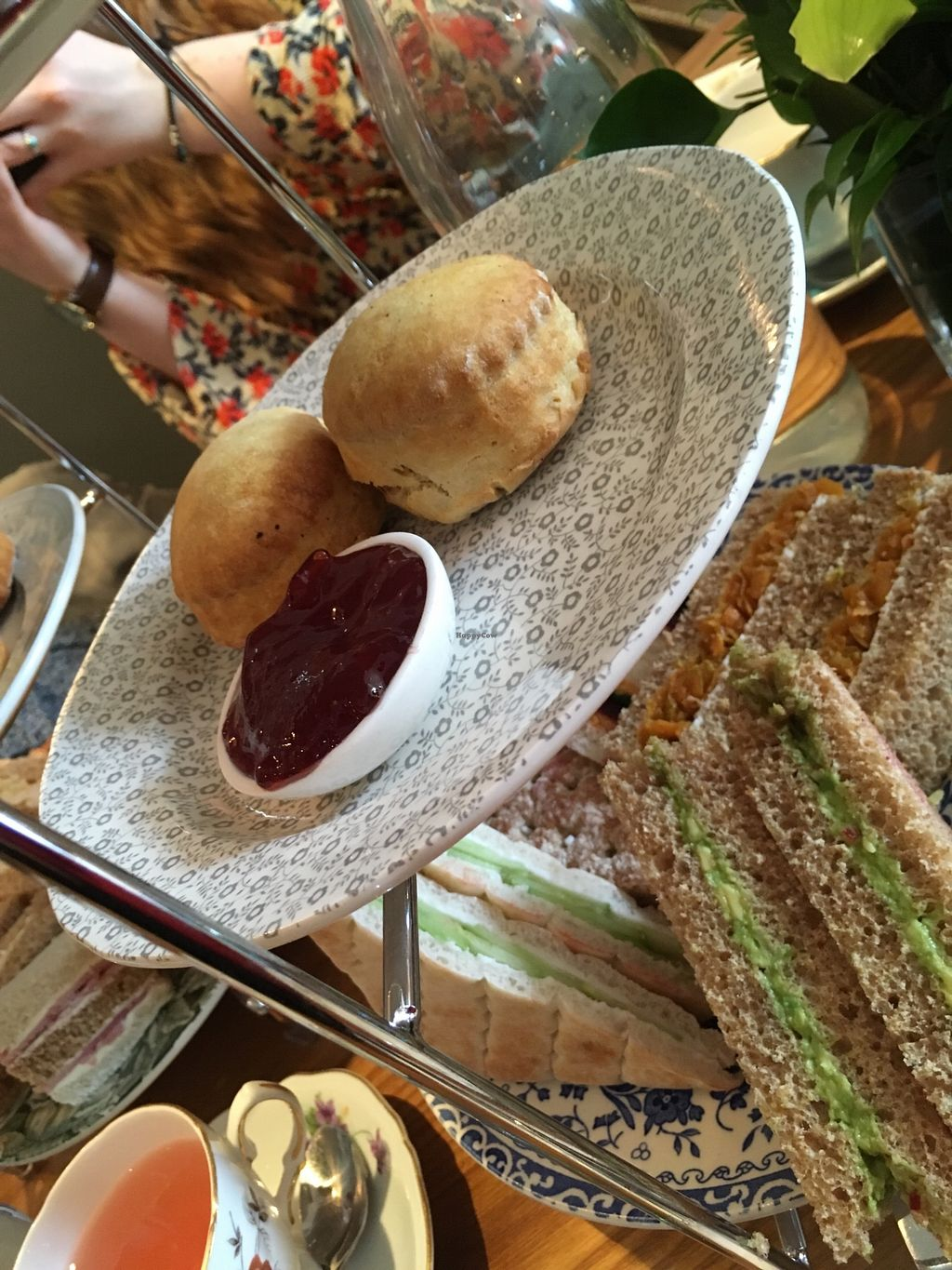 """Photo of 60 Hope Street  by <a href=""""/members/profile/avocado_jess"""">avocado_jess</a> <br/>Vegan scones and jam <br/> March 30, 2018  - <a href='/contact/abuse/image/116231/378173'>Report</a>"""