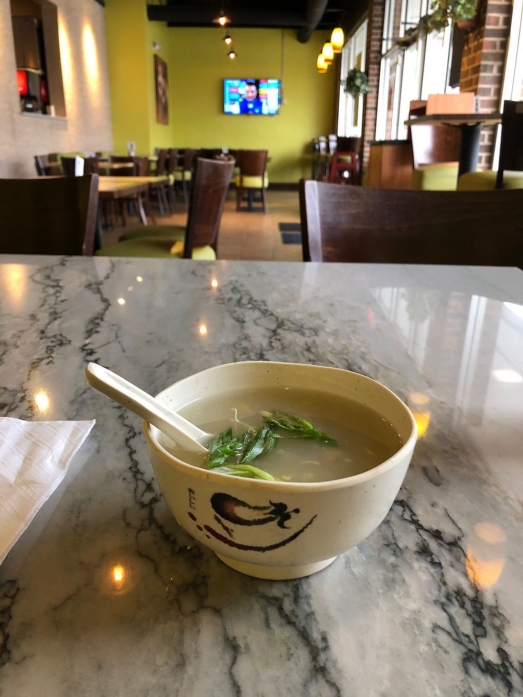 """Photo of Wok N Chop  by <a href=""""/members/profile/LeifEv"""">LeifEv</a> <br/>Corn Soup in Lunch Special <br/> April 9, 2018  - <a href='/contact/abuse/image/116232/383042'>Report</a>"""