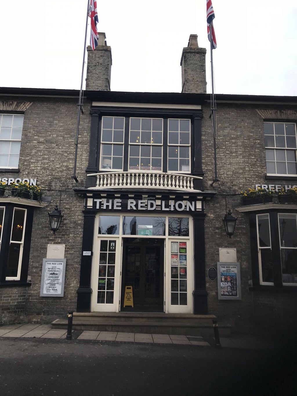"Photo of The Red Lion  by <a href=""/members/profile/20daisy00"">20daisy00</a> <br/>Exterior of the entrance <br/> March 30, 2018  - <a href='/contact/abuse/image/116234/378393'>Report</a>"