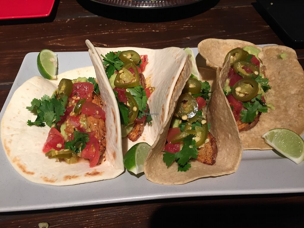 "Photo of Afro Tacos  by <a href=""/members/profile/StarKodama"">StarKodama</a> <br/>Veggie tacos <br/> April 2, 2018  - <a href='/contact/abuse/image/116249/379771'>Report</a>"
