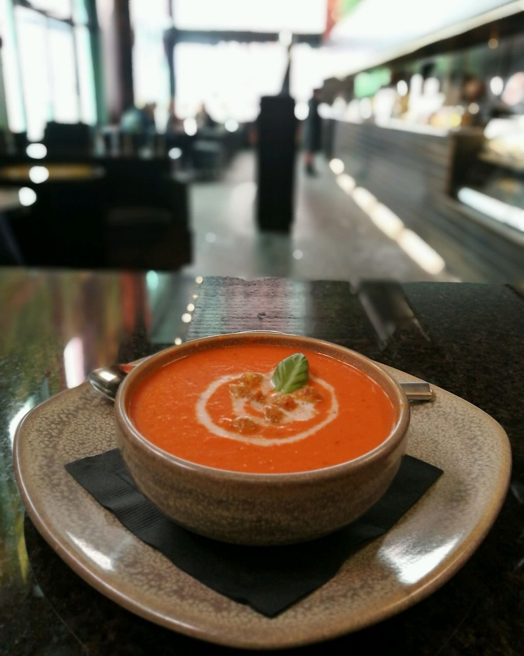"Photo of Kicking Horse Cafe  by <a href=""/members/profile/Ritakafija"">Ritakafija</a> <br/>Carrot and ginger soup <br/> April 4, 2018  - <a href='/contact/abuse/image/116318/380440'>Report</a>"