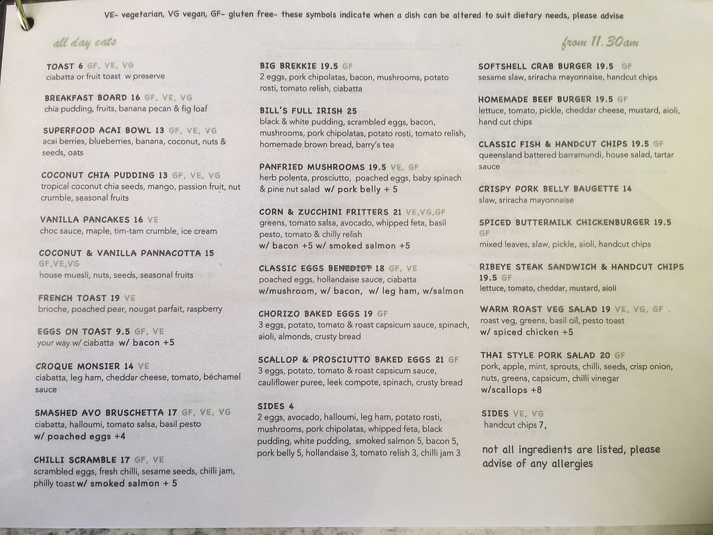 """Photo of Cafe Fresq  by <a href=""""/members/profile/louhay"""">louhay</a> <br/>Menu (March 2018) <br/> April 3, 2018  - <a href='/contact/abuse/image/116319/380085'>Report</a>"""