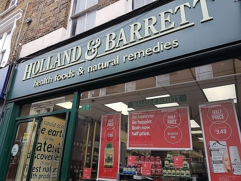 "Photo of Holland & Barrett  by <a href=""/members/profile/TrudiBruges"">TrudiBruges</a> <br/>H&B in Hackney <br/> April 1, 2018  - <a href='/contact/abuse/image/116355/379242'>Report</a>"