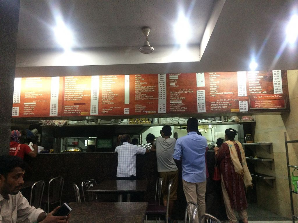 """Photo of Apoorva's Sangeetha Veg Restaurant  by <a href=""""/members/profile/Bob%20Sultan"""">Bob Sultan</a> <br/>Counter <br/> March 31, 2018  - <a href='/contact/abuse/image/116381/378983'>Report</a>"""