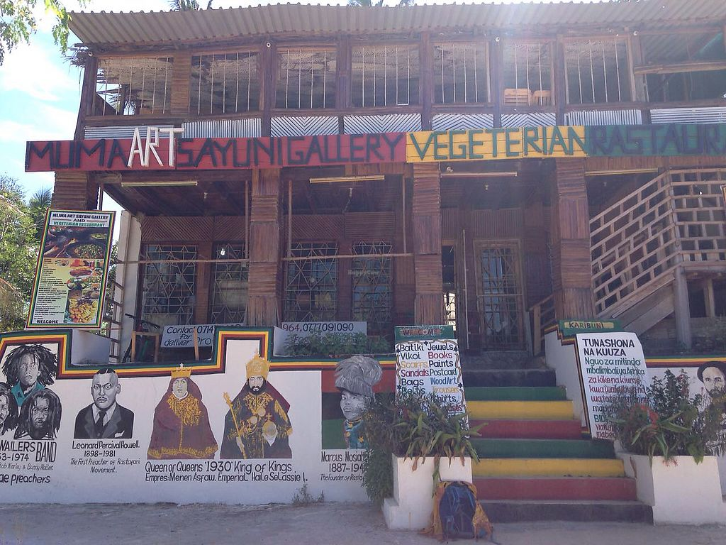 "Photo of Mlima Sayuni Art and Vegetarian Rastaurant  by <a href=""/members/profile/Alizeti"">Alizeti</a> <br/>The Front of the Mlima Sayuni Rastaurant <br/> April 1, 2018  - <a href='/contact/abuse/image/116382/379139'>Report</a>"
