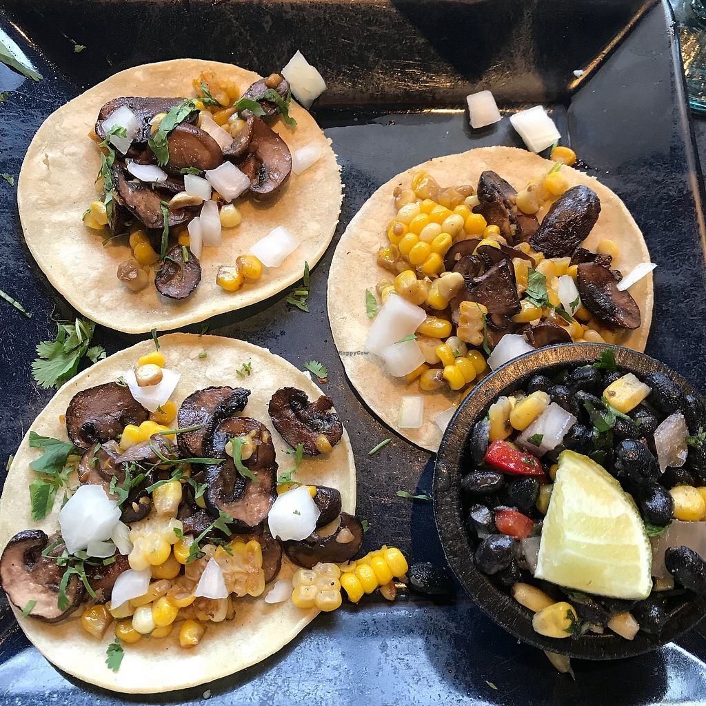 "Photo of Anejo Mexican Bistro  by <a href=""/members/profile/Sarah%20P"">Sarah P</a> <br/>Vegan veggie tacos <br/> March 31, 2018  - <a href='/contact/abuse/image/116399/379075'>Report</a>"