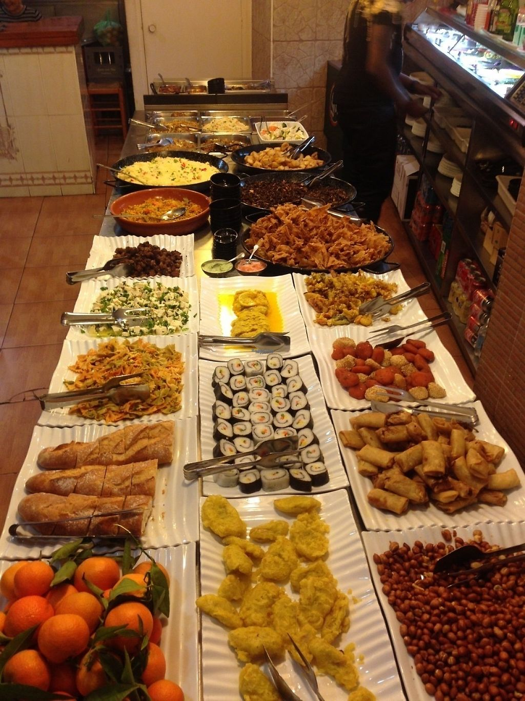 """Photo of The Nature Restaurant  by <a href=""""/members/profile/peterpunk"""">peterpunk</a> <br/>spanish/asian buffet with huge variety <br/> March 11, 2017  - <a href='/contact/abuse/image/1163/235256'>Report</a>"""