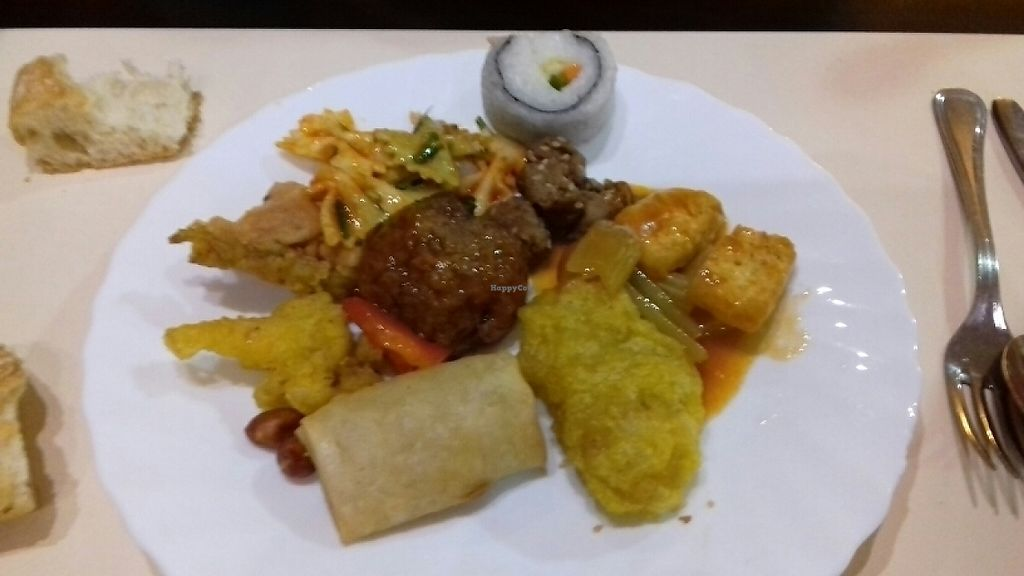 """Photo of The Nature Restaurant  by <a href=""""/members/profile/Vegancat72"""">Vegancat72</a> <br/>plate from the buffet   <br/> May 10, 2017  - <a href='/contact/abuse/image/1163/257641'>Report</a>"""