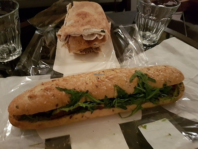 "Photo of Pret A Manger - Brompton Rd  by <a href=""/members/profile/TrudiBruges"">TrudiBruges</a> <br/>wrap and sandwich <br/> April 3, 2018  - <a href='/contact/abuse/image/116419/380173'>Report</a>"