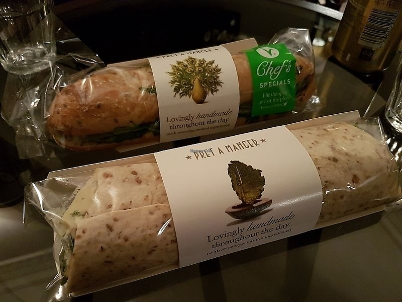 "Photo of Pret A Manger - Brompton Rd  by <a href=""/members/profile/TrudiBruges"">TrudiBruges</a> <br/>sandwiches <br/> April 3, 2018  - <a href='/contact/abuse/image/116419/380176'>Report</a>"