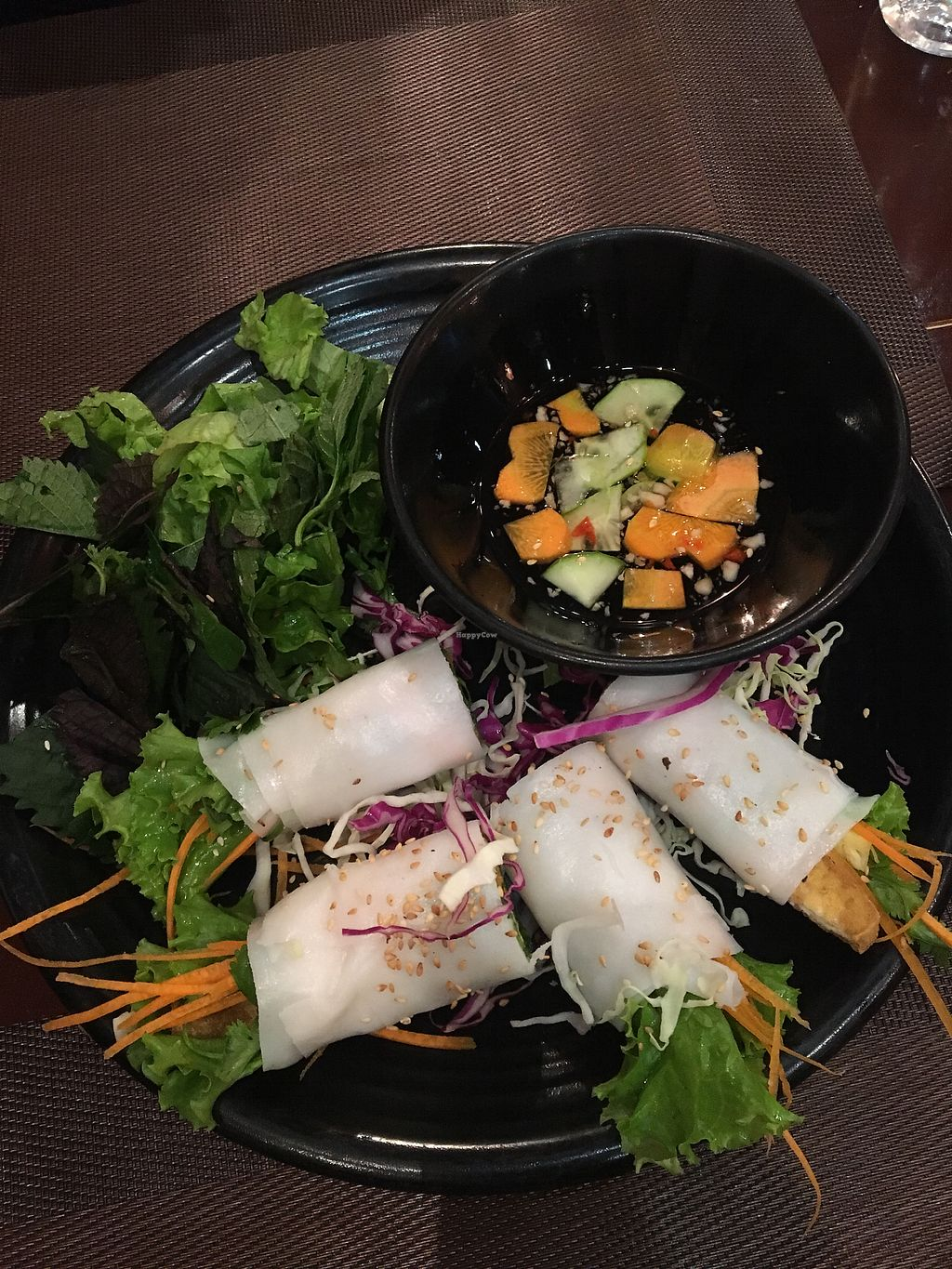 """Photo of Green Farm  by <a href=""""/members/profile/TaylorKingham"""">TaylorKingham</a> <br/>Tofu veg spring rolls <br/> April 5, 2018  - <a href='/contact/abuse/image/116426/381124'>Report</a>"""