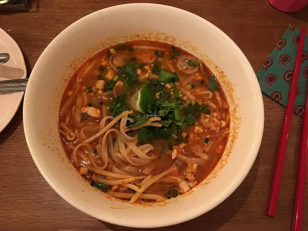 """Photo of Little Spice  by <a href=""""/members/profile/Siup"""">Siup</a> <br/>Tom yum soup (vegan) <br/> April 5, 2018  - <a href='/contact/abuse/image/116427/381353'>Report</a>"""