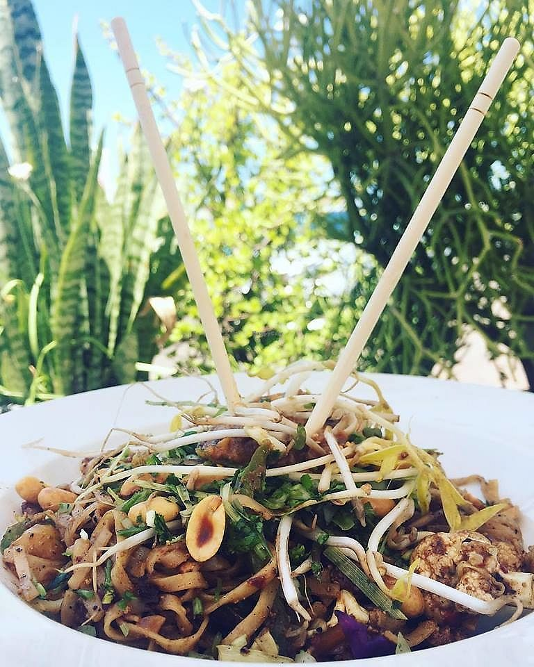 "Photo of Nina's Real Food  by <a href=""/members/profile/community5"">community5</a> <br/>Vegan pad thai <br/> April 5, 2018  - <a href='/contact/abuse/image/116433/381341'>Report</a>"