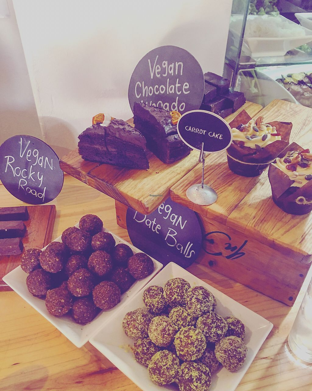 """Photo of Infood Coffee Society  by <a href=""""/members/profile/NikitaLeys"""">NikitaLeys</a> <br/>Some vegan delights ❤️ <br/> April 15, 2018  - <a href='/contact/abuse/image/116435/386345'>Report</a>"""