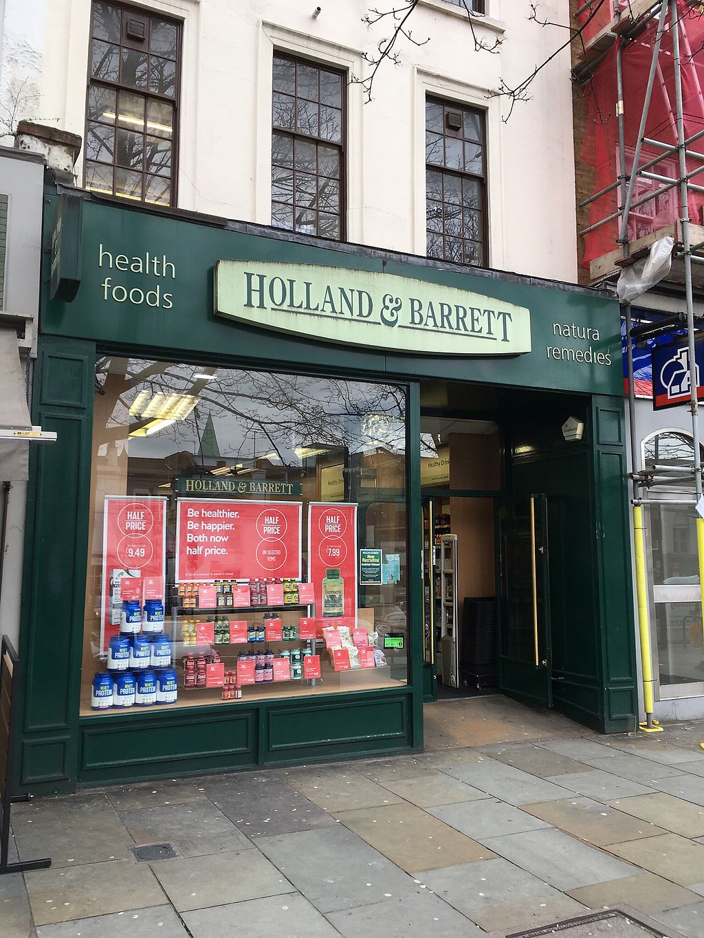 """Photo of Holland & Barrett - 31 Upper St  by <a href=""""/members/profile/hack_man"""">hack_man</a> <br/>Exterior  <br/> April 2, 2018  - <a href='/contact/abuse/image/116455/379624'>Report</a>"""