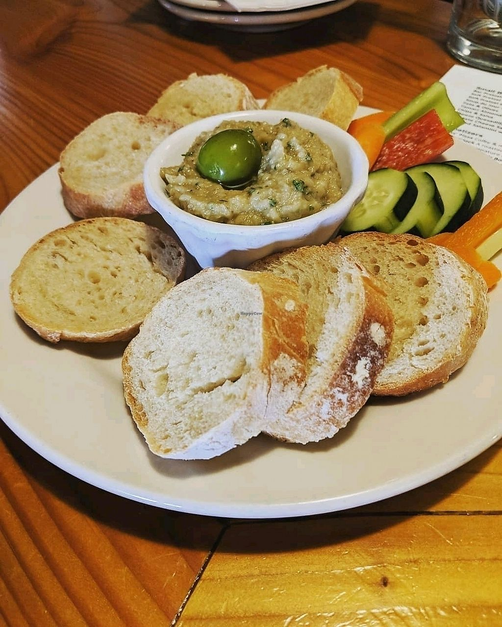 "Photo of Roots Brewing Company  by <a href=""/members/profile/ToriKriegel"">ToriKriegel</a> <br/>eggplant dip <br/> April 13, 2018  - <a href='/contact/abuse/image/116458/385330'>Report</a>"