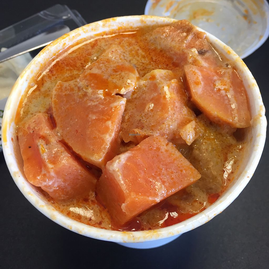 "Photo of Hungry Buddha  by <a href=""/members/profile/bakeydoesntbake"">bakeydoesntbake</a> <br/>Tofu & sweet potato massaman curry <br/> April 9, 2018  - <a href='/contact/abuse/image/116472/383064'>Report</a>"