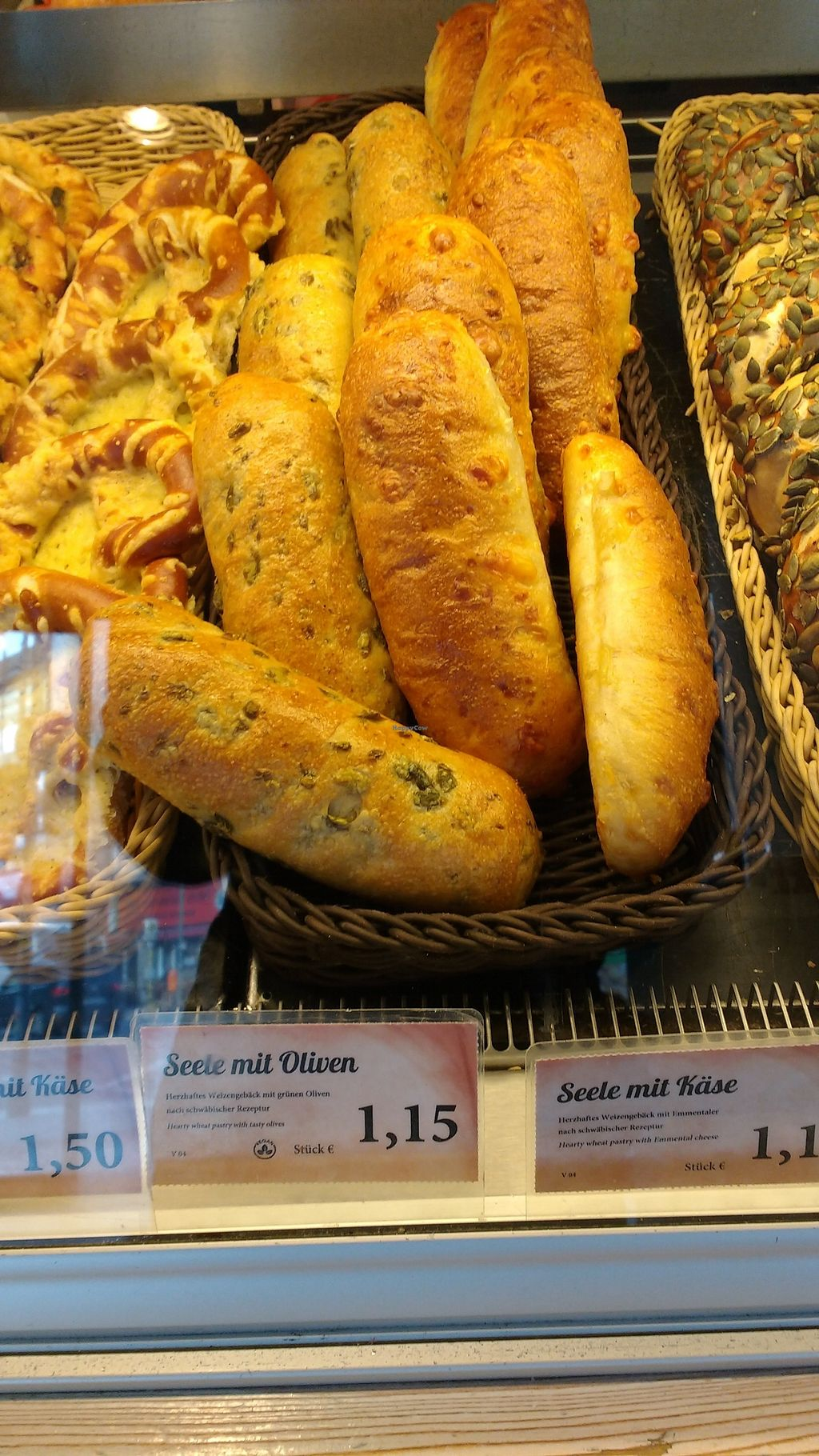 """Photo of Kamps Backstube  by <a href=""""/members/profile/KirstenSchellekens"""">KirstenSchellekens</a> <br/>Olive bread <br/> April 10, 2018  - <a href='/contact/abuse/image/116495/383185'>Report</a>"""