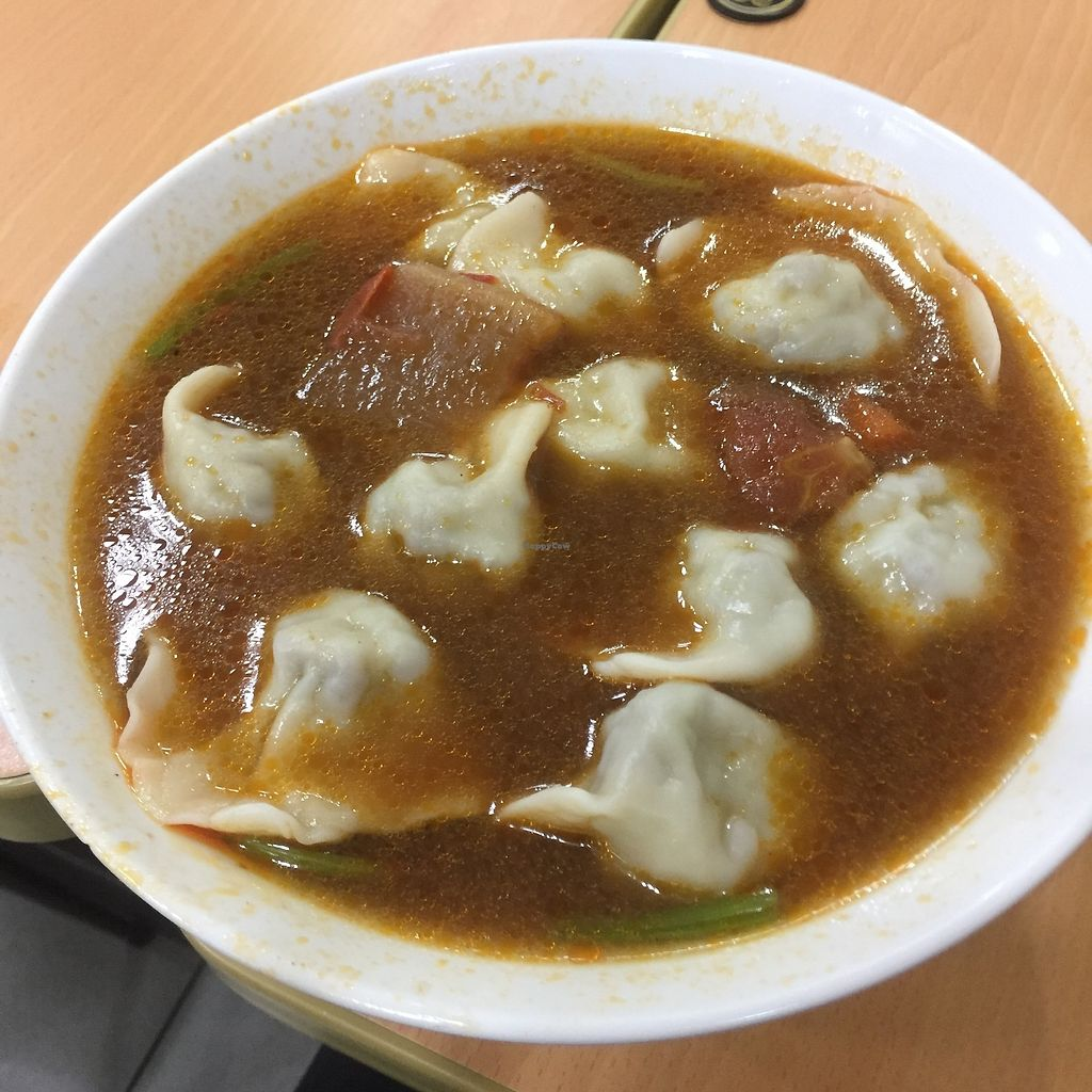 """Photo of Yi Heng Zhai  by <a href=""""/members/profile/Pons"""">Pons</a> <br/>Dumpling soup  <br/> April 15, 2018  - <a href='/contact/abuse/image/116506/385992'>Report</a>"""