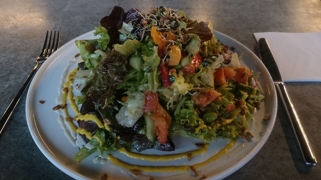 """Photo of LAB Kitchen  by <a href=""""/members/profile/chb-pbfp"""">chb-pbfp</a> <br/>seasonal salad <br/> April 3, 2018  - <a href='/contact/abuse/image/116539/380340'>Report</a>"""