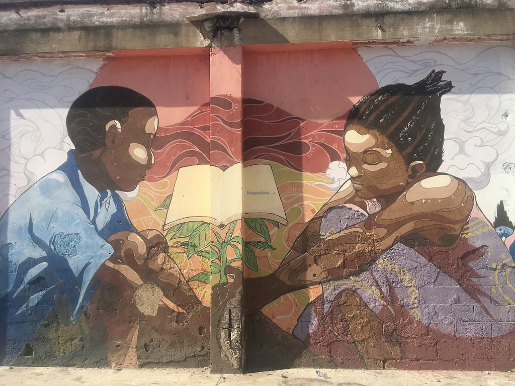 """Photo of Life Yard Restaurant  by <a href=""""/members/profile/Stubler"""">Stubler</a> <br/>One of the many murals around Life Yard <br/> April 6, 2018  - <a href='/contact/abuse/image/116571/381591'>Report</a>"""
