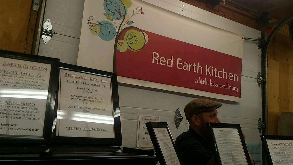 "Photo of Marche Moncton Market  by <a href=""/members/profile/QuothTheRaven"">QuothTheRaven</a> <br/>all vegan red earth kitchen  <br/> April 16, 2018  - <a href='/contact/abuse/image/116575/386821'>Report</a>"