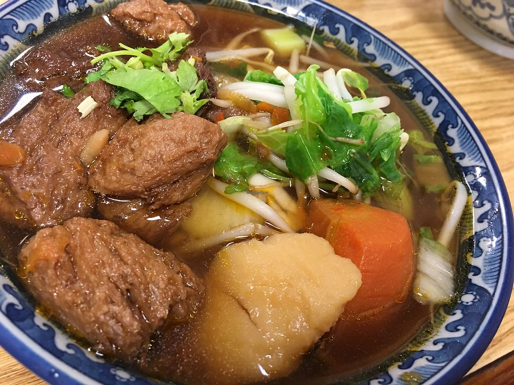 """Photo of Tang Mama Vegan Beef Noodles  by <a href=""""/members/profile/Mark%20Satquest"""">Mark Satquest</a> <br/>Awesomeness on a cold day <br/> April 12, 2018  - <a href='/contact/abuse/image/116617/384297'>Report</a>"""