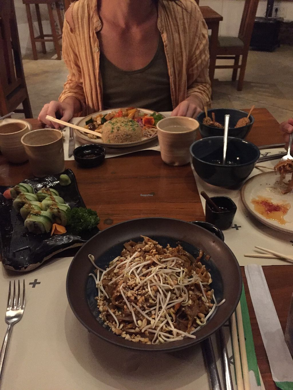 "Photo of Haiku  by <a href=""/members/profile/Mara.nicola"">Mara.nicola</a> <br/>Pad Thai; Rice and Veg Tofu Teryaky <br/> April 14, 2018  - <a href='/contact/abuse/image/116634/385560'>Report</a>"