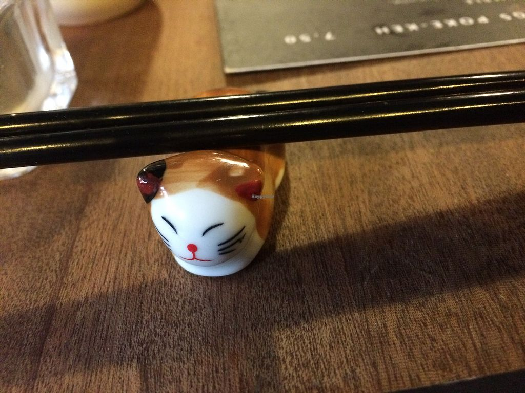 """Photo of Jumon  by <a href=""""/members/profile/CiaraSlevin"""">CiaraSlevin</a> <br/>Cute cat chopstick holders <br/> April 4, 2018  - <a href='/contact/abuse/image/116652/380569'>Report</a>"""