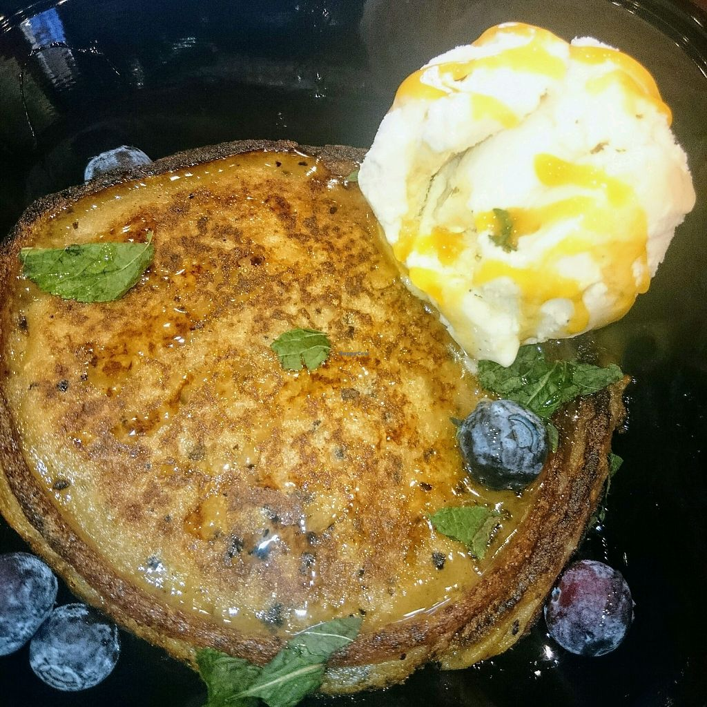 "Photo of Maree Sauce  by <a href=""/members/profile/robz"">robz</a> <br/>blueberry pancakes with vegan icecream <br/> April 13, 2018  - <a href='/contact/abuse/image/116659/385112'>Report</a>"