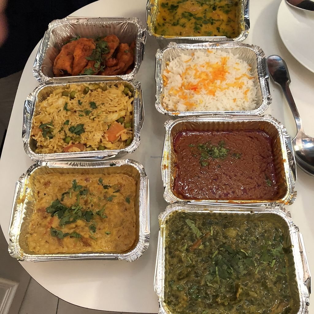 "Photo of Ashiana  by <a href=""/members/profile/TARAMCDONALD"">TARAMCDONALD</a> <br/>Assortment of vegan dishes, takeaway.  I was really impressed! <br/> April 14, 2018  - <a href='/contact/abuse/image/116680/385701'>Report</a>"