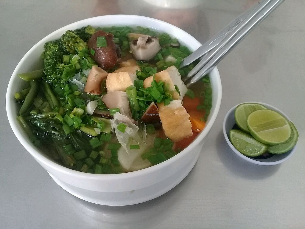 "Photo of Coffee & Noodle Soup  by <a href=""/members/profile/WayneLogue"">WayneLogue</a> <br/>Tofu and vegie pho... so fresh and so good <br/> April 18, 2018  - <a href='/contact/abuse/image/116793/387429'>Report</a>"